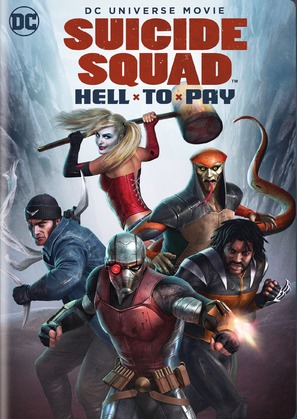 Suicide Squad: Hell to Pay - DVD movie cover (thumbnail)