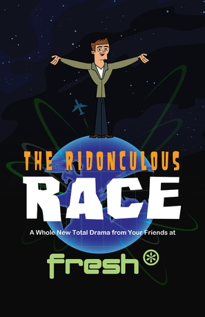 """""""Total Drama Presents: The Ridonculous Race"""" - Movie Poster (thumbnail)"""