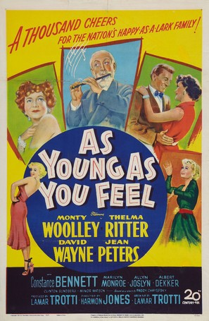 As Young as You Feel - Movie Poster (thumbnail)