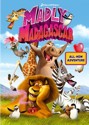 Madly Madagascar - DVD movie cover (thumbnail)