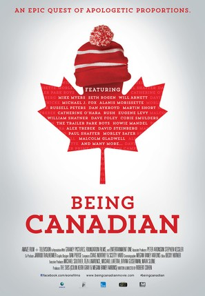 Being Canadian - Canadian Movie Poster (thumbnail)