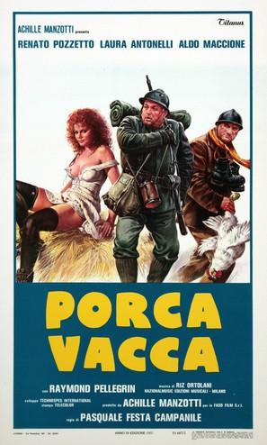 Porca vacca - Italian Movie Poster (thumbnail)