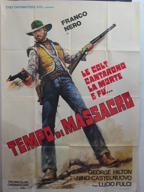 Tempo di massacro - Italian Movie Poster (thumbnail)