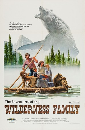 The Adventures of the Wilderness Family - Movie Poster (thumbnail)