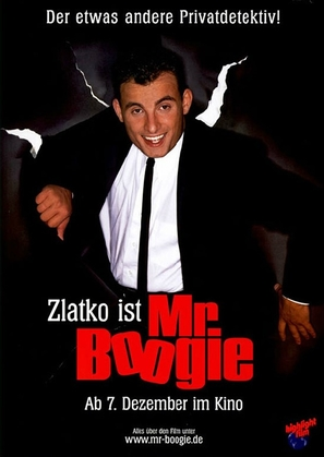 Mister Boogie - German Movie Poster (thumbnail)