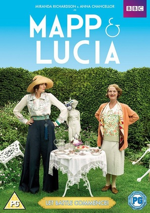 Mapp & Lucia - British DVD cover (thumbnail)