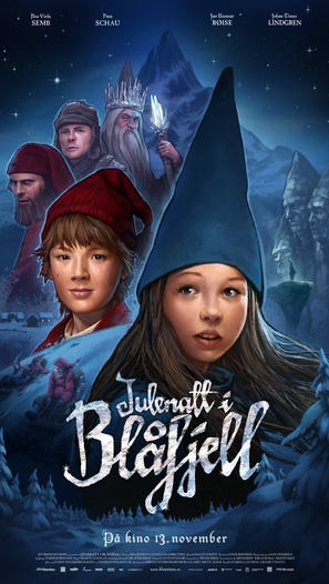 Julenatt i Blåfjell - Norwegian Movie Poster (thumbnail)