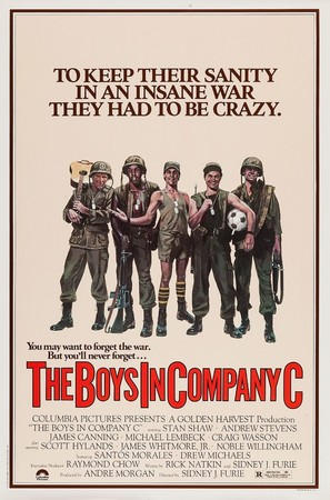 The Boys in Company C - Movie Poster (thumbnail)