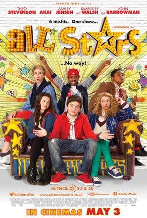 All Stars - British Movie Poster (thumbnail)