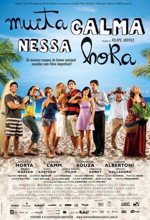 Muita Calma Nessa Hora - Brazilian Movie Poster (thumbnail)
