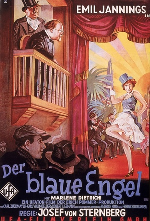 Der blaue Engel - German Movie Poster (thumbnail)