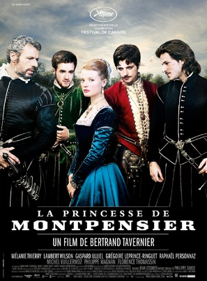 La princesse de Montpensier - French Movie Poster (thumbnail)