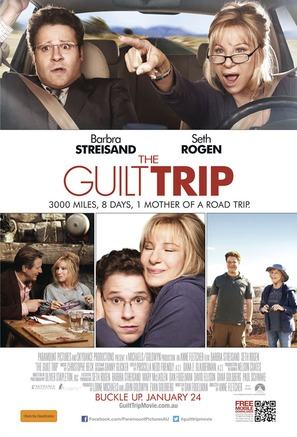 The Guilt Trip - Australian Movie Poster (thumbnail)