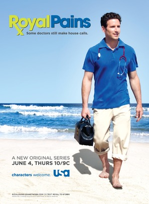 """Royal Pains"" - Movie Poster (thumbnail)"