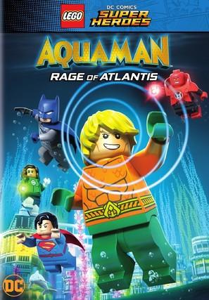 LEGO DC Comics Super Heroes: Aquaman - Rage of Atlantis - DVD movie cover (thumbnail)