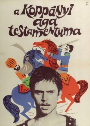 A Koppányi aga testamentuma - Hungarian Movie Poster (thumbnail)