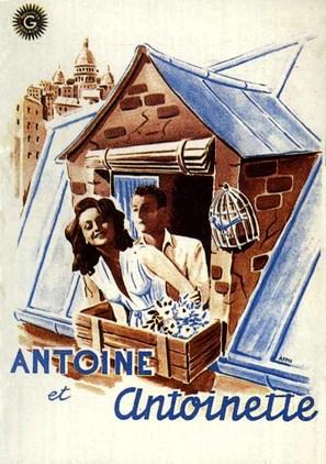 Antoine et Antoinette - French Movie Poster (thumbnail)