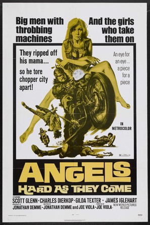 Angels Hard as They Come - Movie Poster (thumbnail)