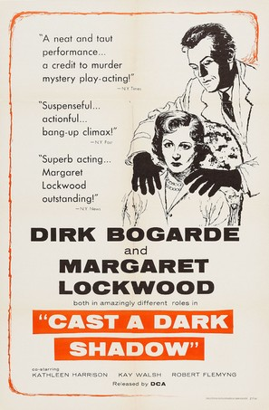 Cast a Dark Shadow - Movie Poster (thumbnail)