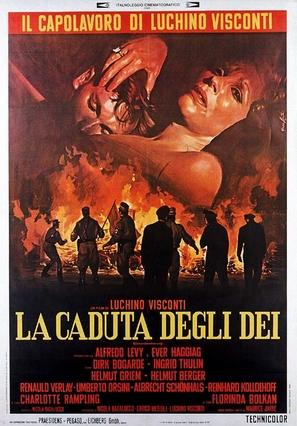 La caduta degli dei (Götterdämmerung) - Italian Movie Poster (thumbnail)