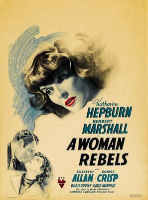 A Woman Rebels - Movie Poster (thumbnail)