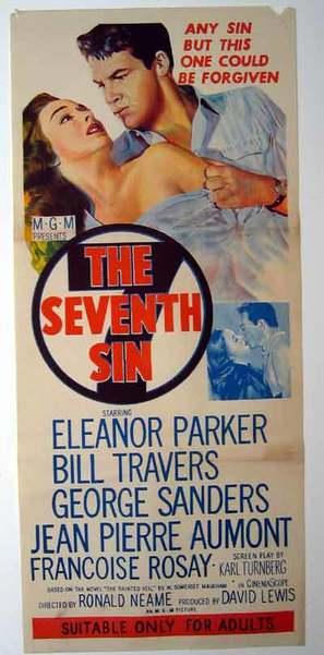 The Seventh Sin - Australian Movie Poster (thumbnail)
