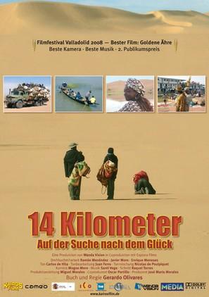 14 kilómetros - German Movie Poster (thumbnail)
