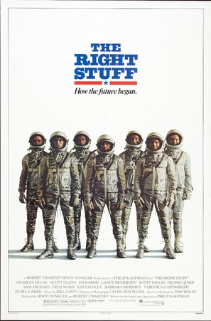 The Right Stuff - Movie Poster (thumbnail)