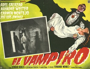 Vampiro, El - Mexican Movie Poster (thumbnail)