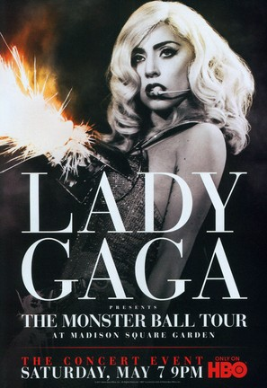 Lady Gaga Presents: The Monster Ball Tour at Madison Square Garden - Movie Poster (thumbnail)