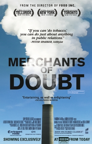 Merchants of Doubt - British Movie Poster (thumbnail)
