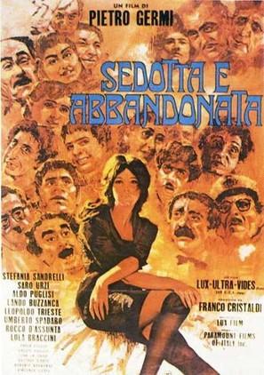 Sedotta e abbandonata - Italian Movie Poster (thumbnail)