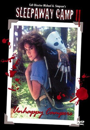 Sleepaway Camp II: Unhappy Campers - DVD cover (thumbnail)