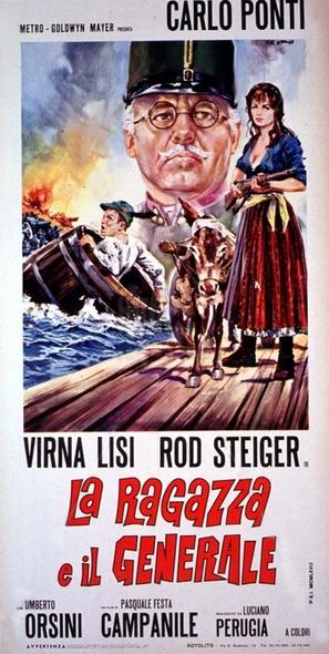 La ragazza e il generale - Italian Movie Poster (thumbnail)