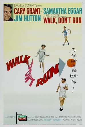 Walk Don't Run - Theatrical movie poster (thumbnail)