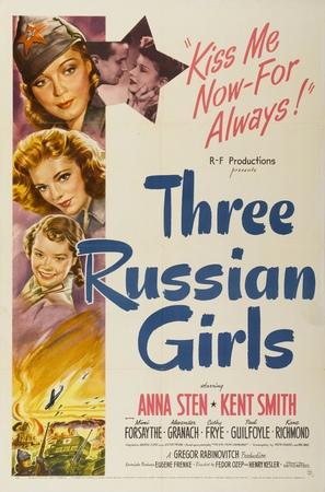 Three Russian Girls - Movie Poster (thumbnail)