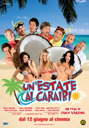 Un'estate ai Caraibi - Italian Movie Poster (thumbnail)