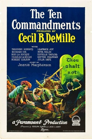 The Ten Commandments - Movie Poster (thumbnail)