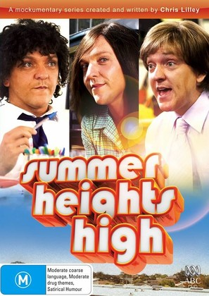 """Summer Heights High"" - Australian DVD movie cover (thumbnail)"