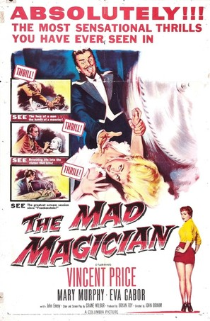 The Mad Magician - Movie Poster (thumbnail)