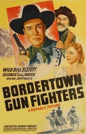 Bordertown Gun Fighters - Movie Poster (thumbnail)