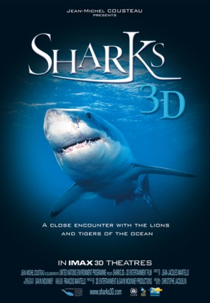 Sharks 3D - Movie Poster (thumbnail)
