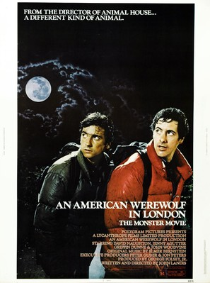 An American Werewolf in London - Movie Poster (thumbnail)