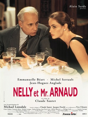 Nelly & Monsieur Arnaud - French Movie Poster (thumbnail)