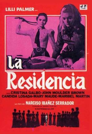 La residencia - Spanish Movie Poster (thumbnail)