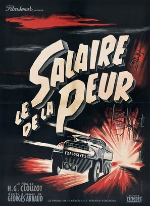 Le salaire de la peur - French Movie Poster (thumbnail)
