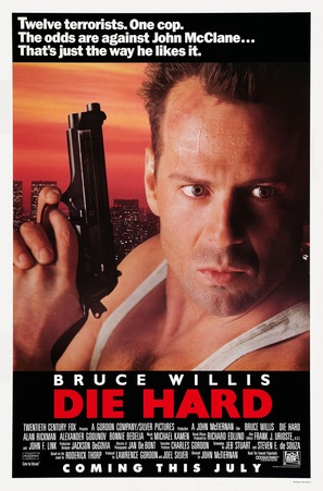 Die Hard - Advance movie poster (thumbnail)