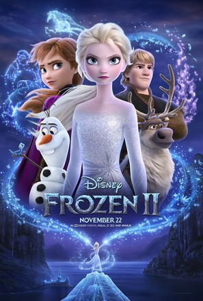 Frozen II - Movie Poster (thumbnail)