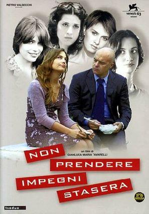 Non prendere impegni stasera - Italian Movie Poster (thumbnail)