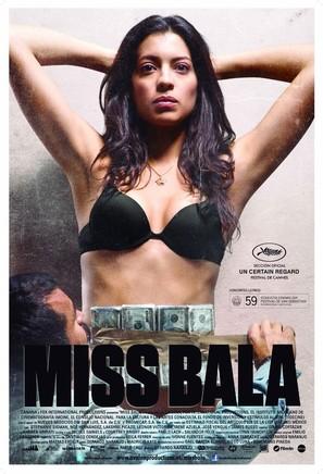 Miss Bala - Spanish Movie Poster (thumbnail)